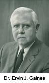 Dr. Ervin Gaines